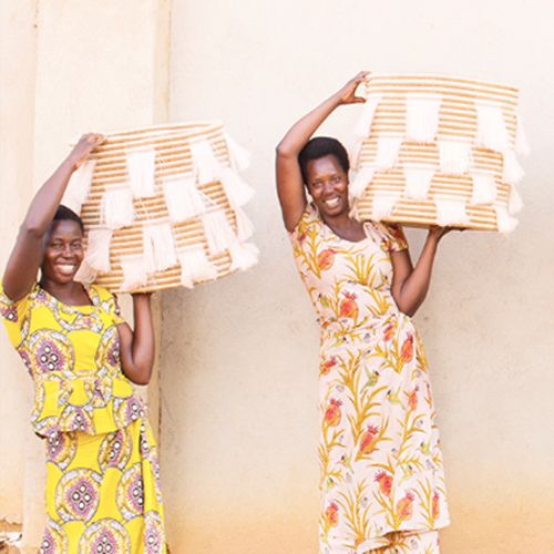 INDEGO AFRICA - Handcrafted products with 100% of profits funding the education for artisan women and young people in Africa.
