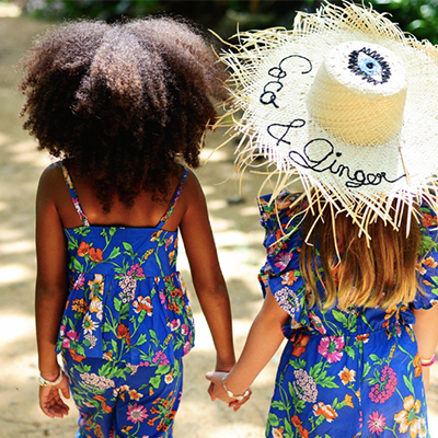 COCO & GINGER - Whimsical children's clothing brand that collaborates with local Balinese artisans.