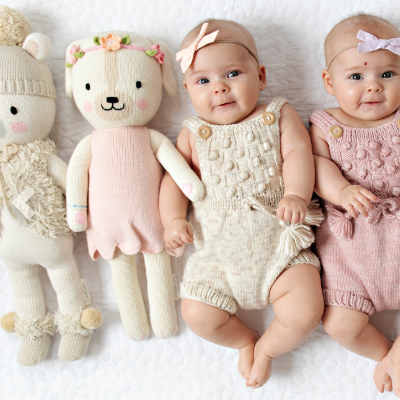 CUDDLE + KIND - Premium, handknit dolls by artisans in Peru. One doll = 10 meals to a child in need.
