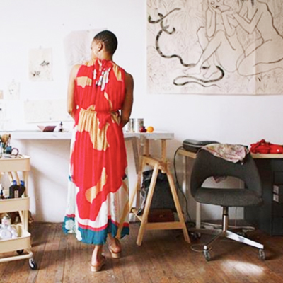 A PEACE TREATY - A vibrant, ready-to-where line that is a champion for slow fashion, preserving centuries-old techniques by working with artisan groups across 10 countries.