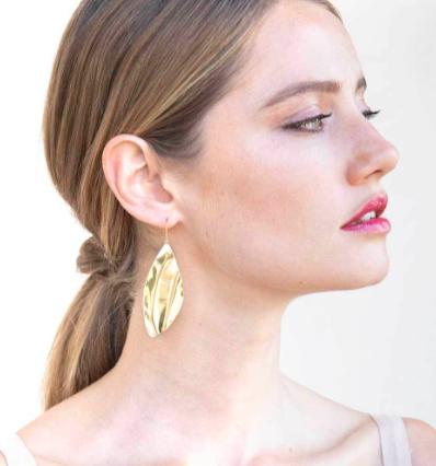 Tulla Statement Threader Earrings  $64