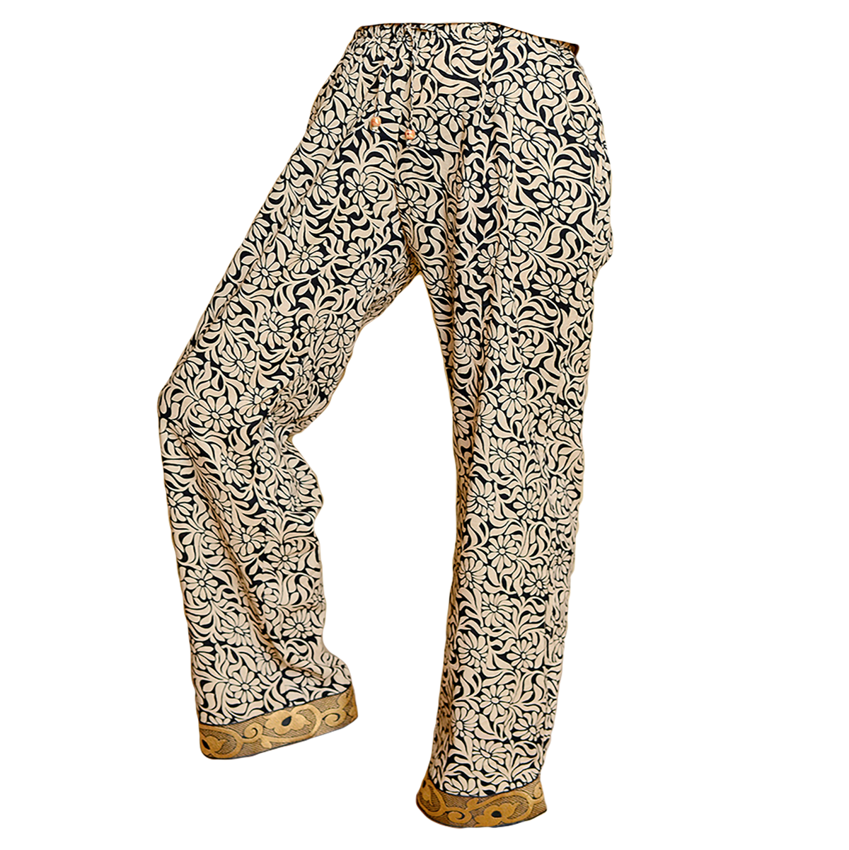 Sudara Kaveri Ivory Full Punjammies® Lounge Pant  $54