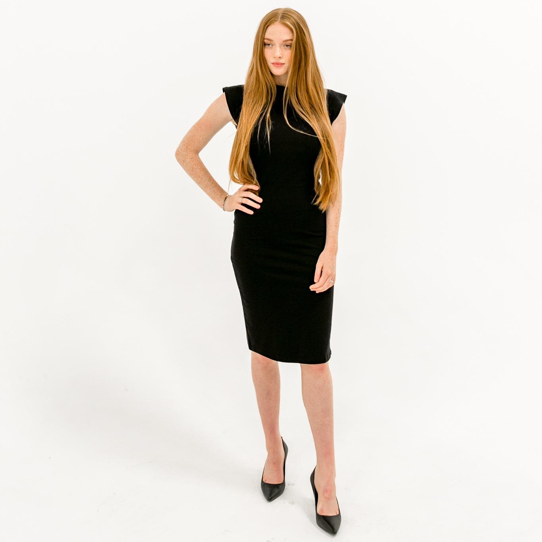 The Caitlin Dress - Black  $64.00