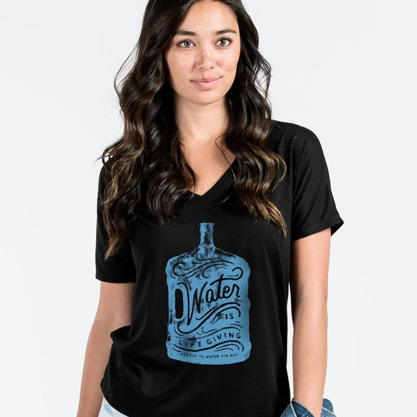 Sevenly Water is Life V-Neck Tee  $40