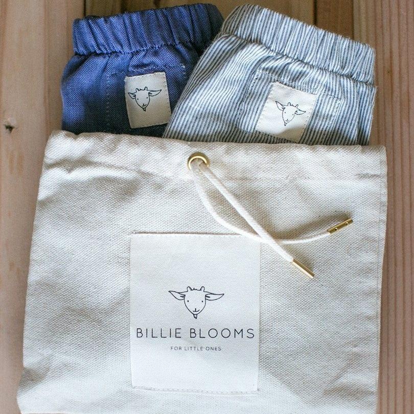 BILLIE BLOOMS Organic Bloomers Set  $78