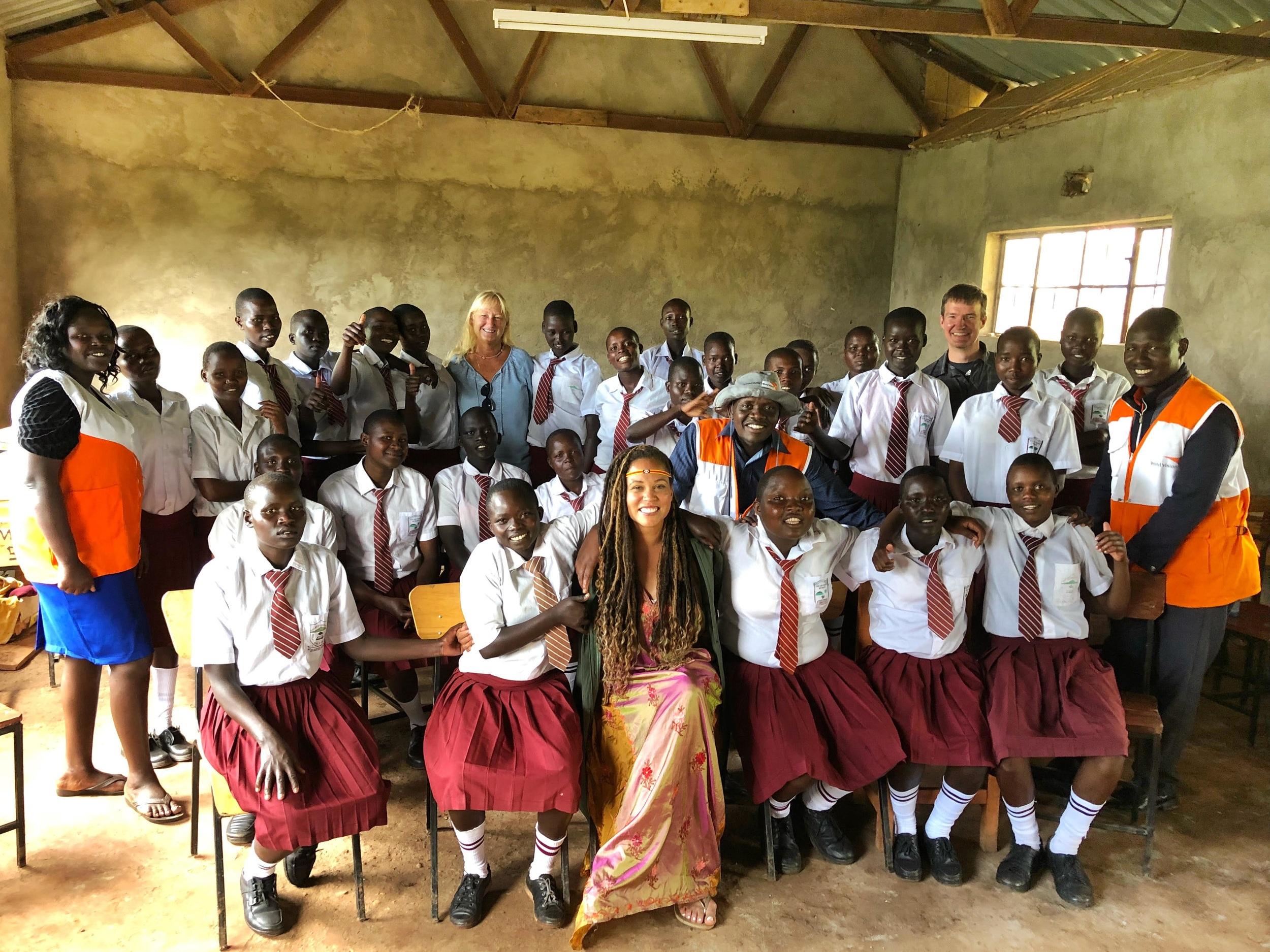 Breegan Jane in Kenya - Changemaker