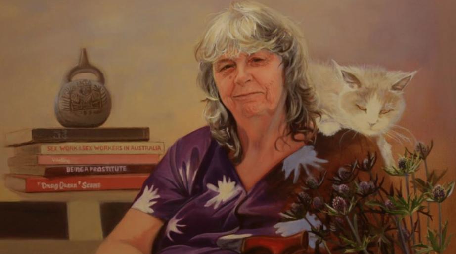 Portrait of Roberta Perkins by Nada DeCat