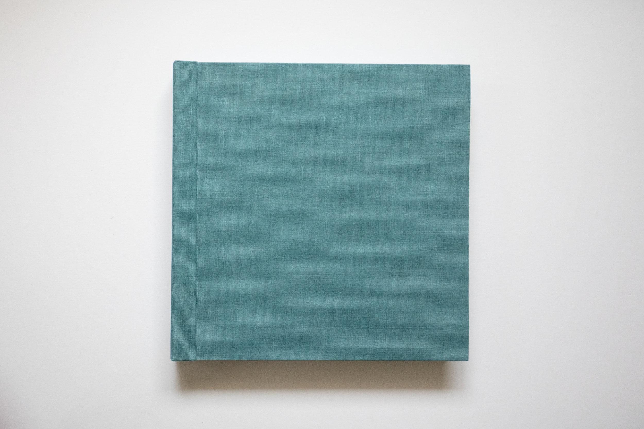 10 x 10 Teal Linen Cover Album