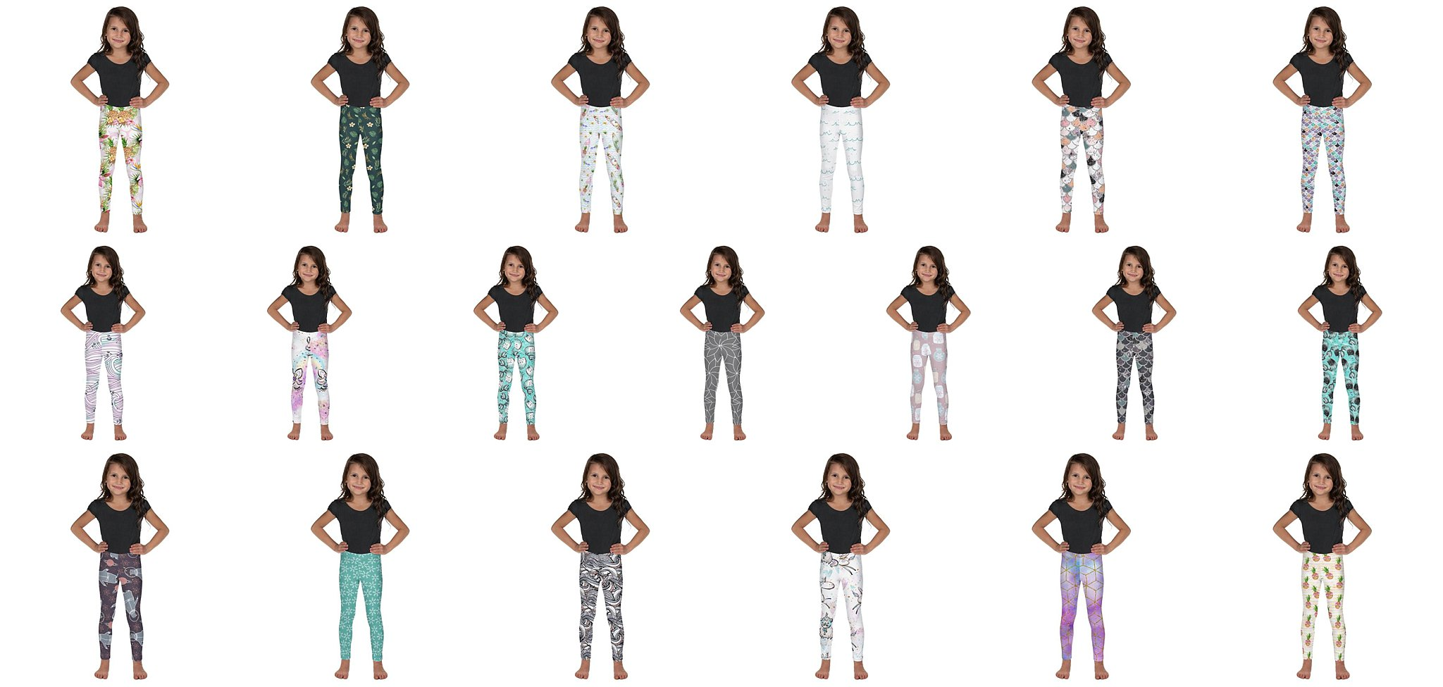 Kids leggings, OMG. For real, my kids are going NUTS over these.