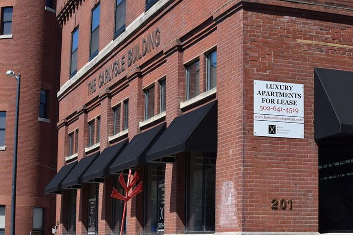 DISCOVER A UNIQUE WORKSPACE AT THE CARLYSLE BUILDING - Bright commercial/office spaceEasy walking distance to the YUM center, NuLu shops & restaurants, the Kentucky Center for the Arts and MORE!Converted Armour Meatpacking Building