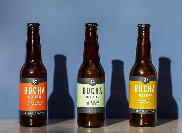 What's your flavour? Tell me what's your flavour, ooh. #alcoholickombucha #buchabrothers #betterbeerbelly 📸 @theedibleimage