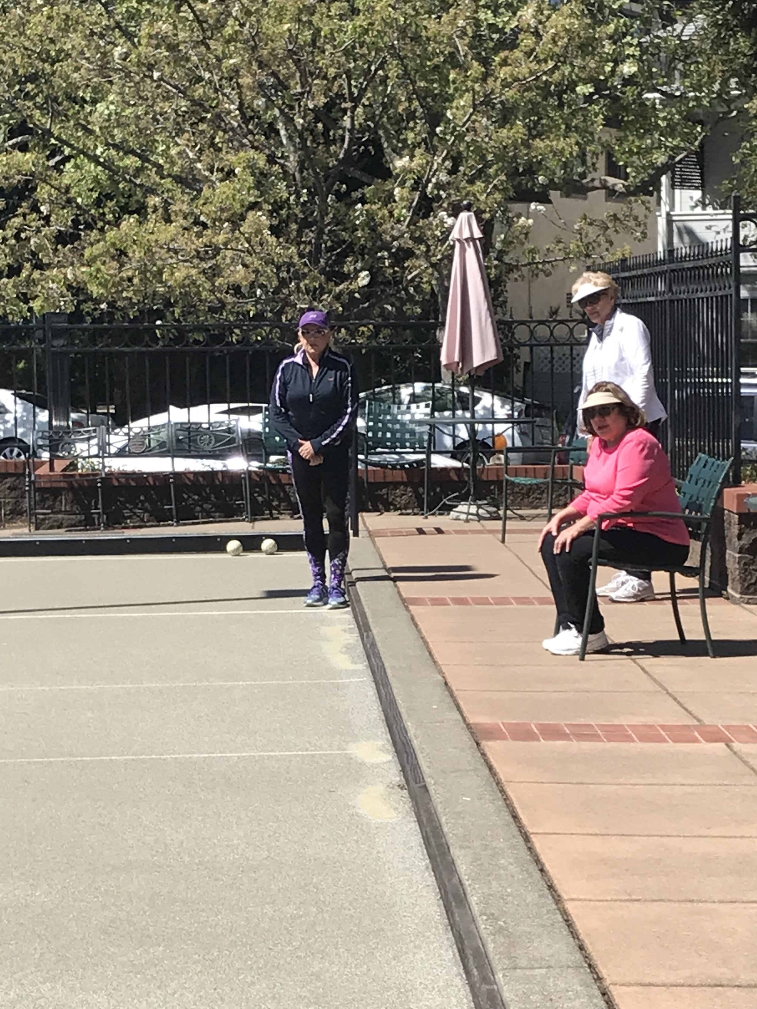 There is nothing better than playing bocce with your friends!