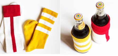 Guess what you need? A sock. Yup, a sock.