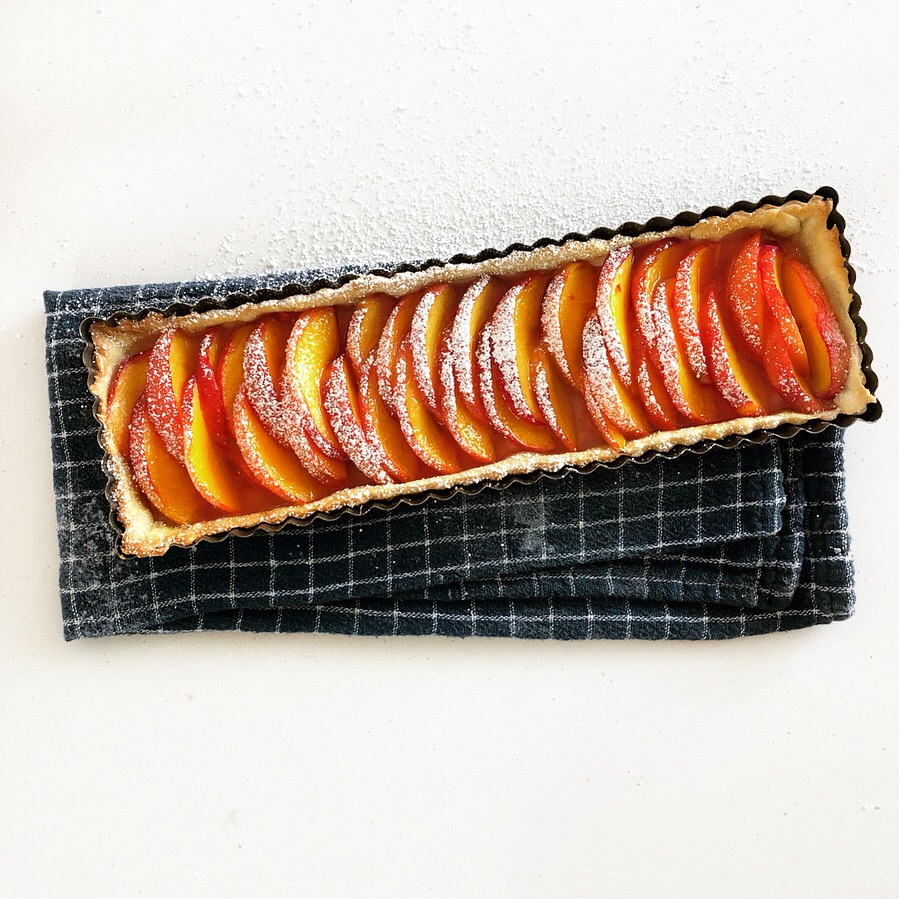 6 Ingredient Summer Peach Tart.JPG