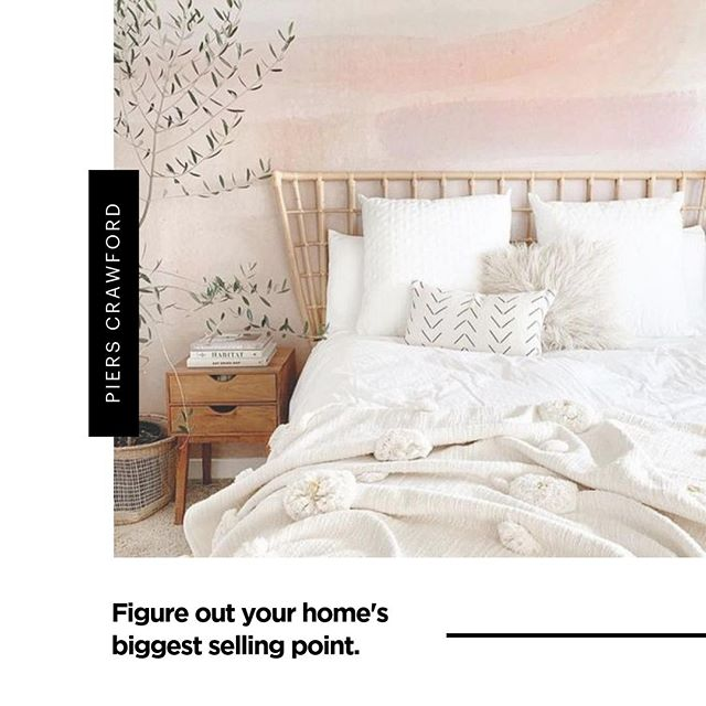 Knowing your home's main selling point is critical. 💯⠀ ⠀⠀ In a bid to sell your house fast - you should know what makes your house stand out. ⠀ ⠀⠀ Every home is unique in its own way and you want to make it obvious. What do people love most about your home? 🏡⠀ ⠀⠀ If you're having a bit of trouble locating your house's selling point - ask for a real estate agent's help.⠀ ⠀⠀ Once you figure it out, really make a big point of it in your marketing. There's so much competition out there that you need to showcase your highlights to buyers.⠀ ⠀⠀ Still not sure? I can help. Give me a call and let's figure out what it is and how to capitalise on it. 🔑⠀ ⠀⠀ 📸 An amazing photo and bedroom layout credit to @anewalldecor