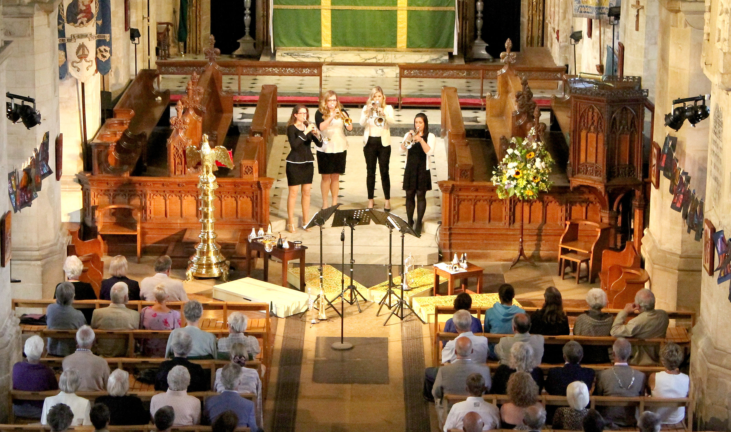 Bella Tromba performing on the Opening Night of the Wymondham Music Festival. Photo credit Anna Meeks.jpg