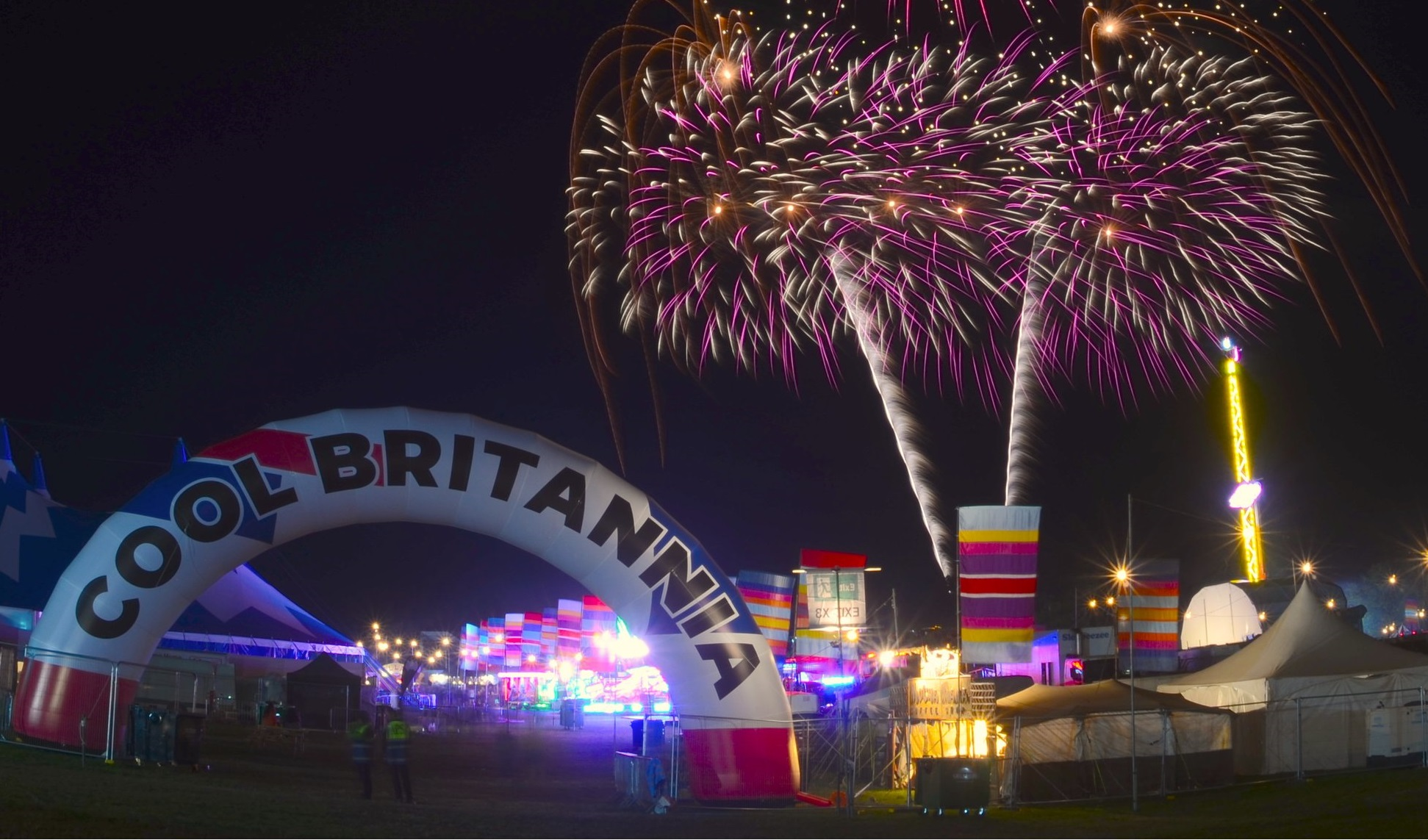fireworks - Make sure you stay to the very end of COOL BRITANNIA 2019 as there's sure to be an amazing display. A fantastic firework finale will light up the sky as the festival draws to an end on Sunday.