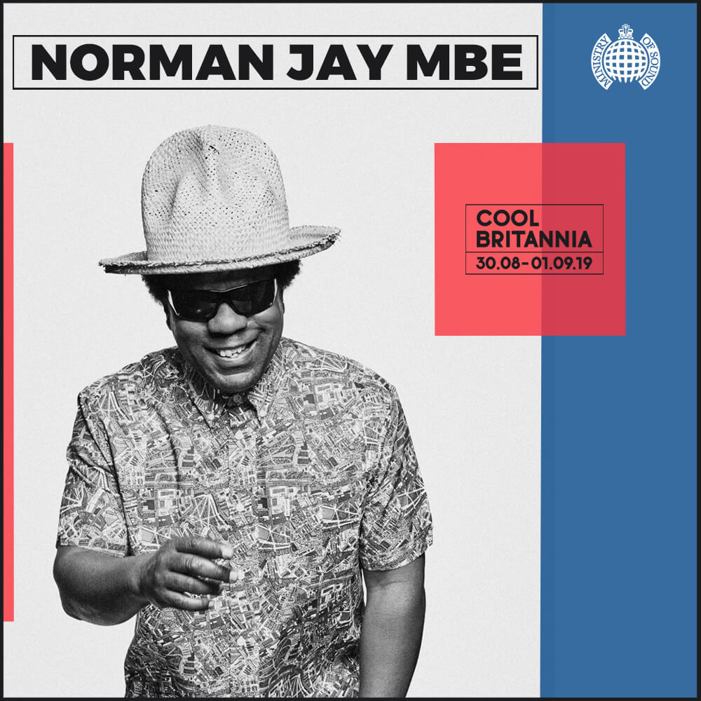 Norman Jay MBE is unquestionably one of most respected and popular DJs in the world today. Born in Notting Hill, Jay played his first gig aged 8 at a 10th birthday party. Influenced by his father's record collection of blue beat, ska and jazz, by the late 1970s he was considered an emerging authority on contemporary Afro-American music including funk, disco, soul and jazz fusion.    During a series of late-70s trips to New York, visiting family, Norman was inspired by the city's unique and vibrant club scene, and on his return to the UK teamed up with his brother, Joey, to  build the Good Times Sound System, playing funk, soul and disco at Notting Hill Carnival. Cementing his reputation as co-founder of, and prime selector on, the then London pirate radio station KISS  FM. Jay originally coined the term, and subsequently fostered the emerging 'Rare Groove' scene, filling the airwaves and many warehouse parties under his Shake and Fingerpop guises, with the best in 70s & 80s grooves and nascent house cuts. Pushing the boundaries of the UK's emerging club culture he went on to co-found the first 'Paradise Garage' style club in Britain – 'High On Hope', and, alongside kindred spirit Gilles Peterson, Norman established the Talkin' Loud label, spearheading the Acid Jazz scene.      Throughout the late 80s and 90s, Jay continued to build a reputation as one of the world's most popular DJs, packing clubs to the rafters wherever he played, taking the underground sounds of  rare groove and house firmly into the mainstream. The turn of the century saw Norman Jay assume the role of elder statesman, receiving an MBE from the Queen for services to deejaying and music.    Most recently he has taken his legendary Good Times parties to the East of London, sharing the carnival vibes with venues including St John at Hackney Church, Oval Space and Mick's Garage. His latest compilation 'Mister Good Times' released with Sunday Best Recordings captures the true spirit of Good Times, 'Peo