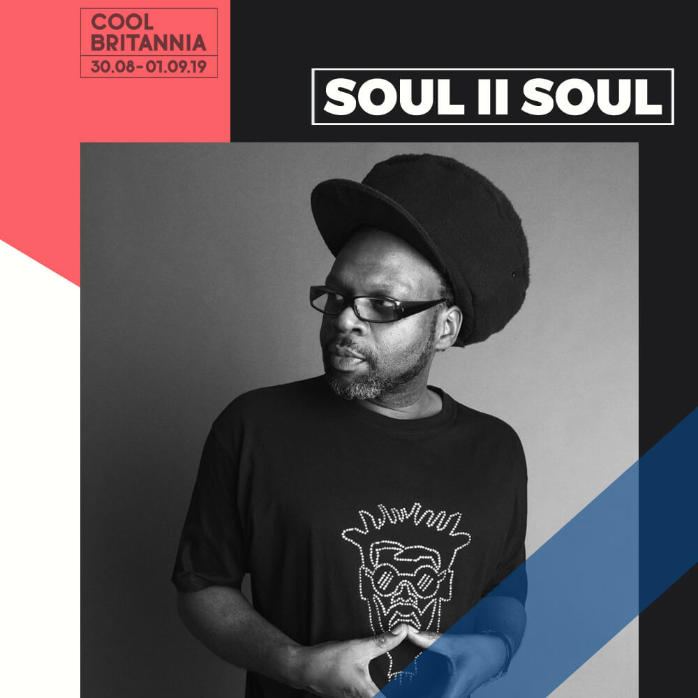 """""""We're from the days when a number 14 bus and a supermarket trolley got us around"""". Jazzie B remembers the lengths he and a school friend used to go to play dances with their first sound system when they were just 13 years old. It sums up the determination, resourcefulness and a love for music that got Soul II Soul where it is today. Their first North London sound system, Jah Rico, played mainly reggae, but after three years changed the vibe to more soul and funk and Soul II Soul was born.  Soul II Soul's dances had been reflecting what was naturally in London; kids of all races had grown up together and were now raving together. By the mid-1989's the warehouse scene was in full swing, vibrant and underground, removed from the constraints of the mainstream- a natural fit for their creativity.  Soul II Soul caught the attention of Virgin Records, who signed them as an act in 1988, catapulting them into a tornado of success. The Soul II Soul sound was original, new, fresh and infectious- above all, though, it was a UK thing. It represented what was going on all around it and alienated nobody. There were the resident club nights all over the world; live concert tours, radio and TV appearances; Jazzie had his own show on London's Kiss FM and there was even an Adventures of the Funki Dreds comic book. And, of course, Soul II Soul enjoyed the type of chart success – notably with  Keep on Movin'  and  Back to Life  – that made them household names all over the world.  To date Soul II to Soul have sold over 10 million albums in over 35 territories worldwide and have product on over 200 compilation CDs while Jazzie has accreditation on over 35 million albums in over 100 territories. They've performed in over 20 countries, and appeared at some of the most famous venues in the world including Wembley and New York's Universal Ample Theatre.  Jazzie B no longer borrows supermarket trolleys and hasn't seen the inside of a number 14 bus for a while, but the sound system mentality """