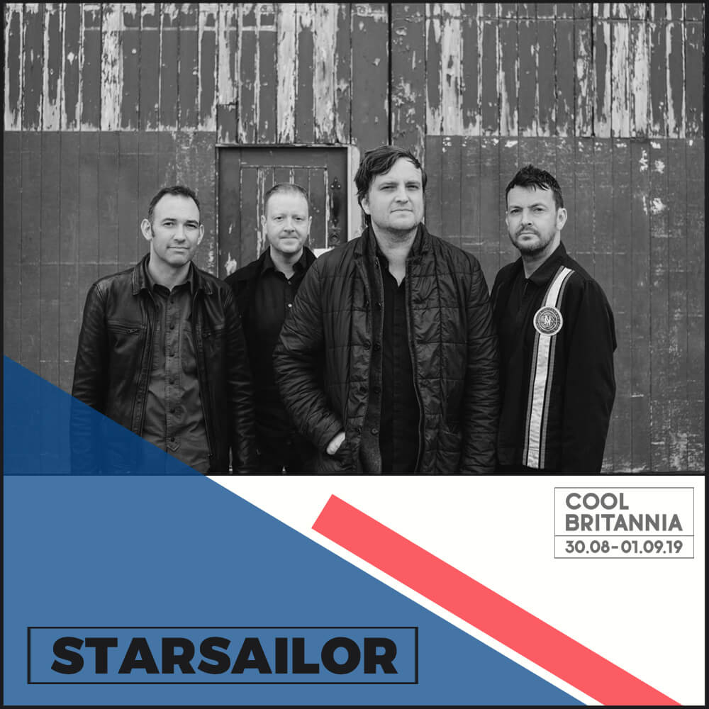 """Starsailor burst onto the scene in 2001 when their single  Fever  earned them the title of """"Britain's best new band"""". The band was formed at Wigan and Leigh Music College by music students James Walsh (vocals/guitar), James Stelfox (bass), and Ben Byrne (drums). Later saw the arrival of keyboardist Barry Westhead, who cemented their sound.    In April 2000, after seeing their first London show, the NME wrote: """"One live encounter was enough to convince many sceptics that here was a band who were genuinely special, blessed with a singer whose voice thrummed like an emotional telegraph wire, that swerved the pitfalls of indie melancholia and were clearly in love with rock 'n' roll and all its possibilities.""""    They have sold over 3 million albums worldwide and have enjoyed more than their fair share of prestigious gigs, supporting the likes of The Rolling Stones, The Police, The Killers, and U2. The band released their latest album 'All This Life' in 2017 and it is their fifth consecutive Top 30 album."""