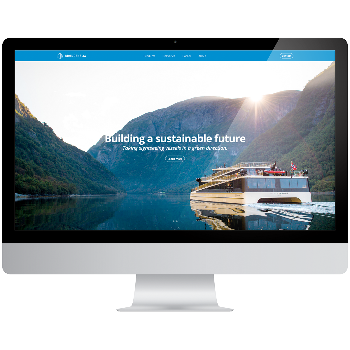 New Website - Our services:- Website design- Squarespace implementation- Squarespace Developer Mode- Custom HTML, CSS, and Javascript- Custom boats moduleIn January 2018, we launched a new website for Brødrene Aa. This is a second generation website with a Squarespace platform. The website has both a modern design and simplified content.