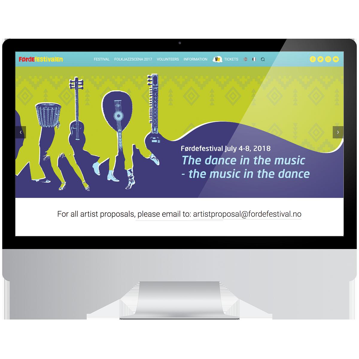 Websites - Our services:- Website design- Squarespace implementation- Custom html, css, javascript- External ticket system integration