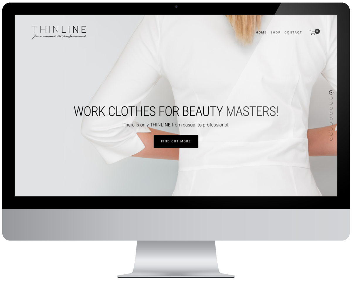New Website - Our services:- Website design- Squarespace implementation- Custom HTML and CSS- E-commerce with Stripe Technology