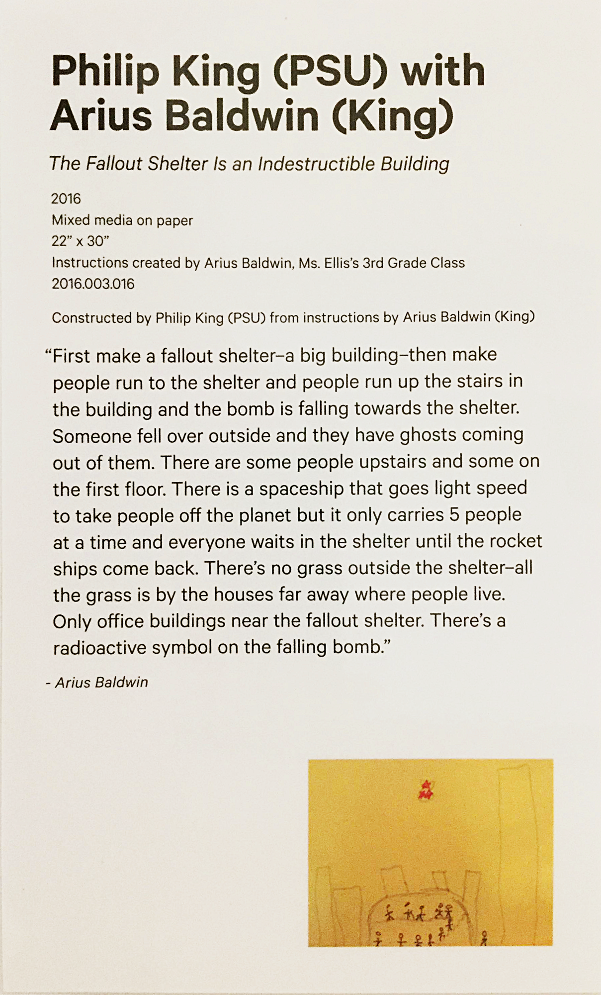 "From ""That's Old School"" (2016), King School Museum of Contemporary Art"