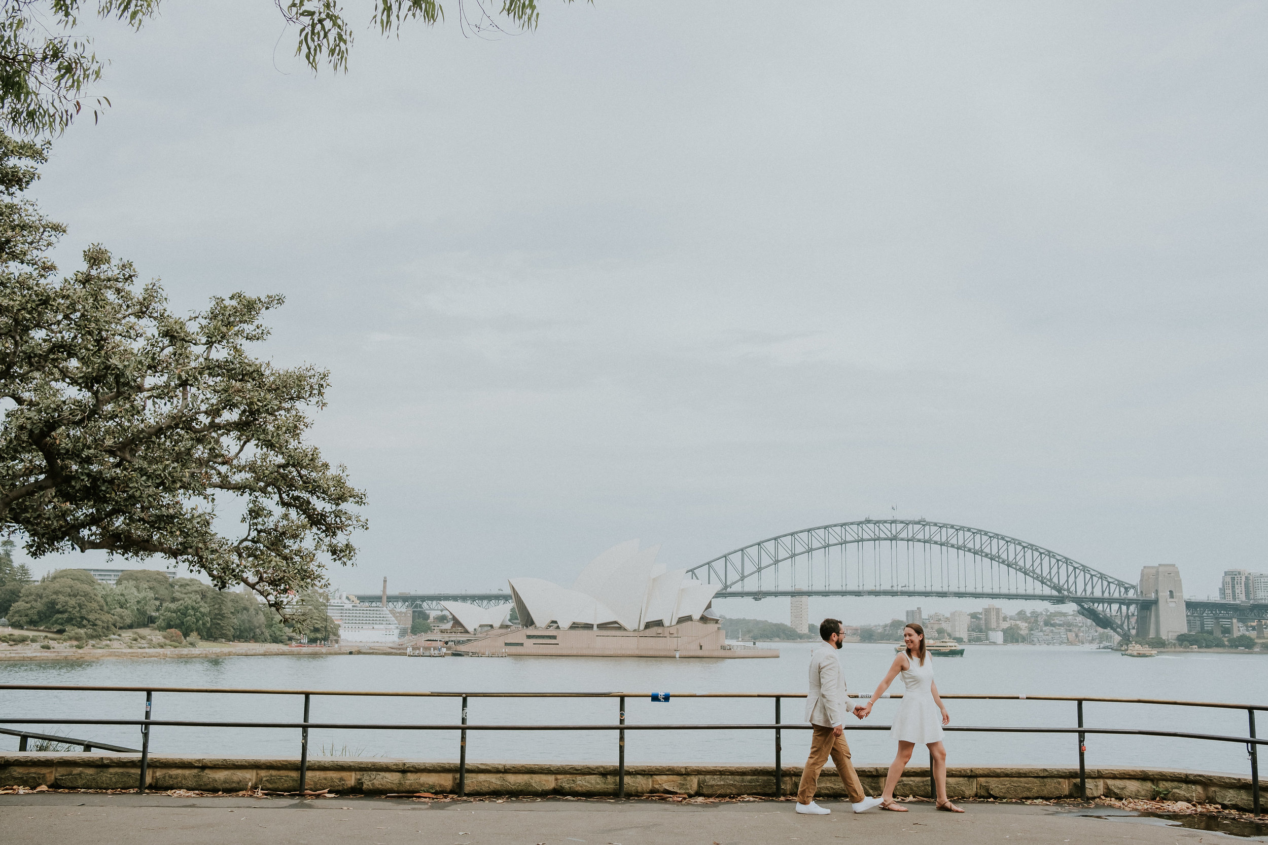 Sydney Prewedding Photography The Rocks Mrs. Macquarie Chair - 024.jpg