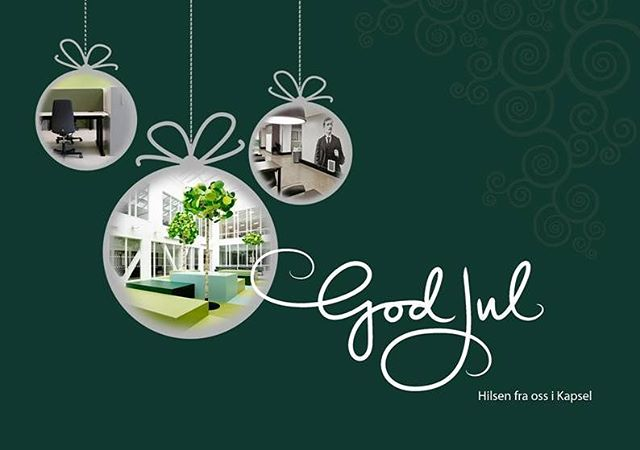God jul fra Kapsel 🎄✨ 🎅 #kapsel_design
