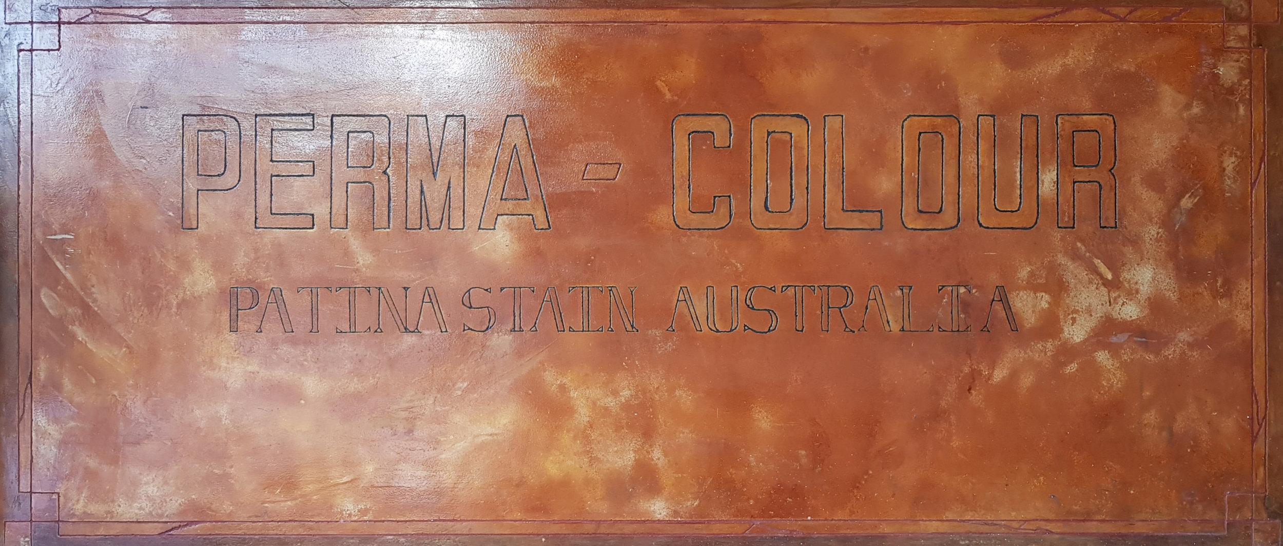 Concrete Acid Stain Permacolour Logo