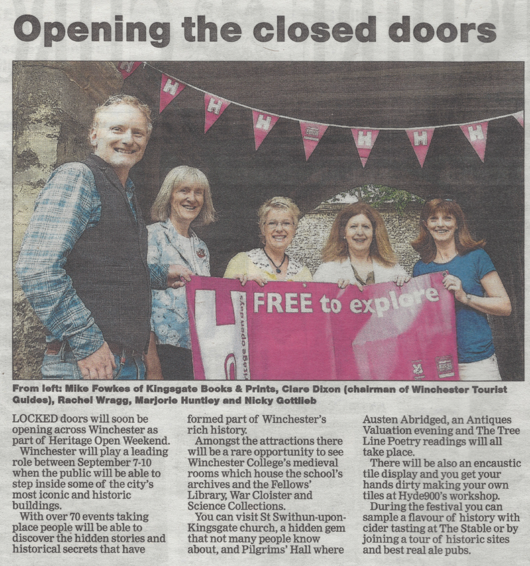 Hampshire Chronicle feature from 20th July 2017