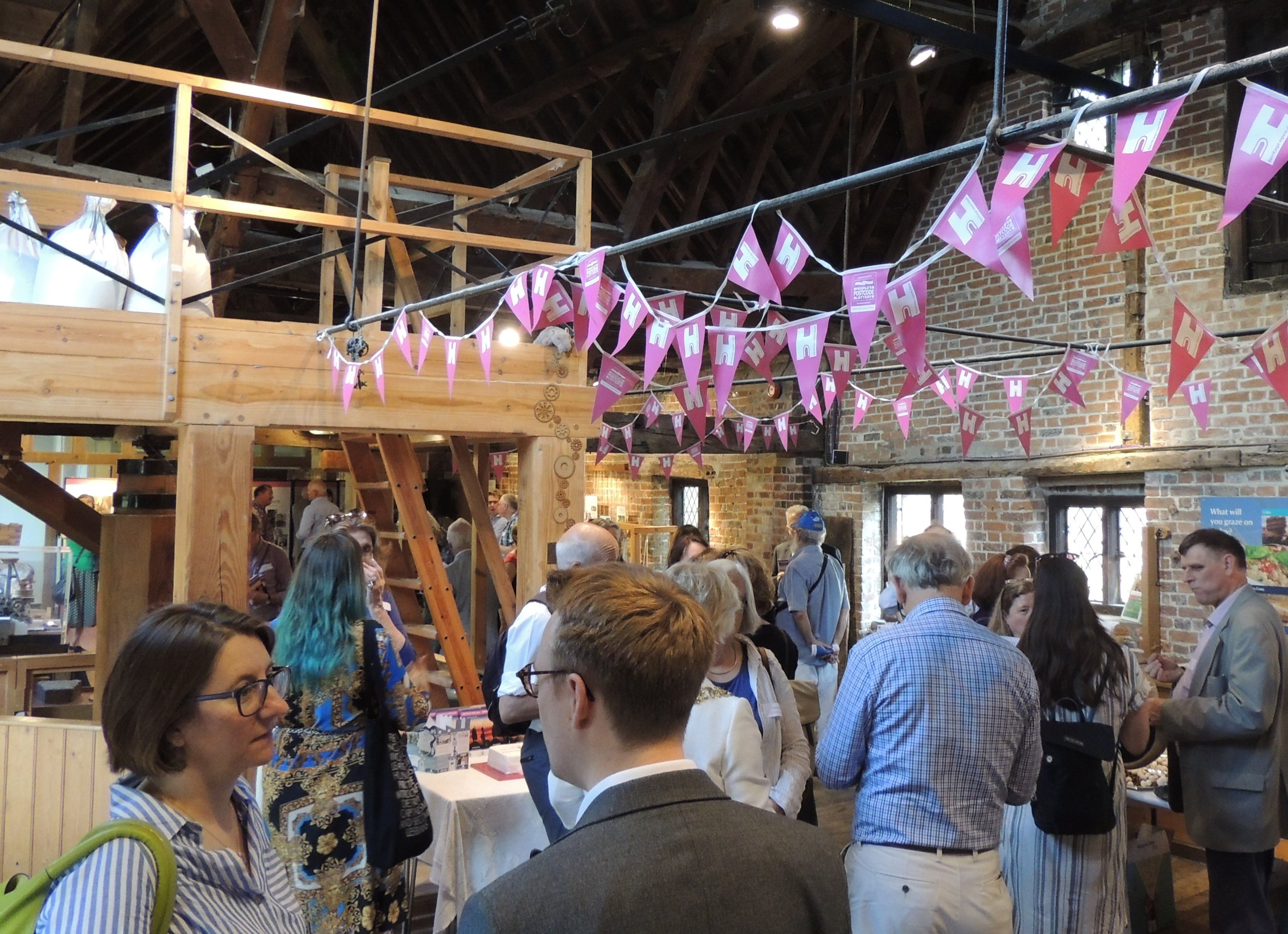 Heritage Open days party in Winchester City Mill.jpg
