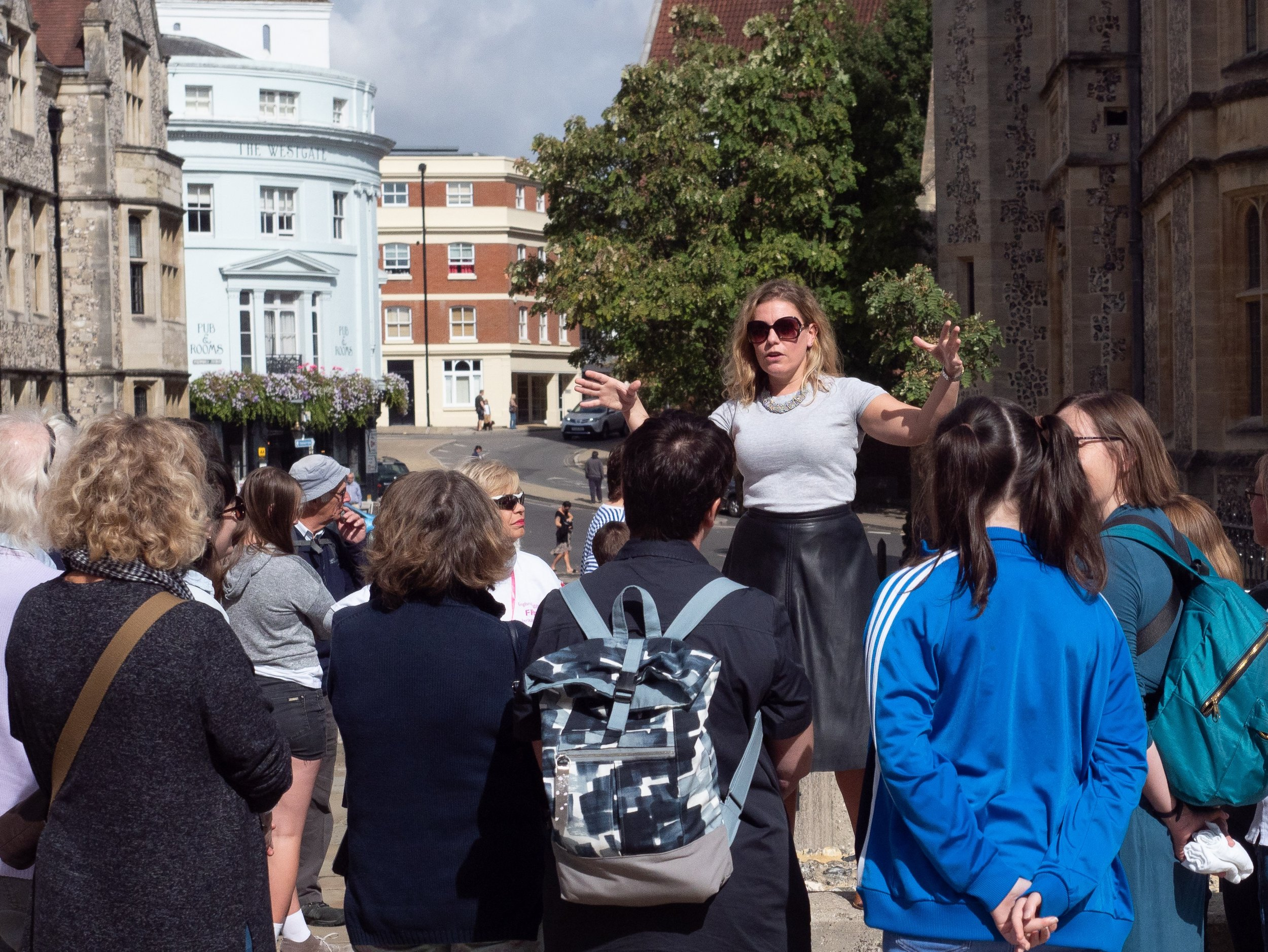 Dr Kate Weikert on her Tale of Two Matildas Tour on HODS Saturday - Credit Mike Hall.jpg