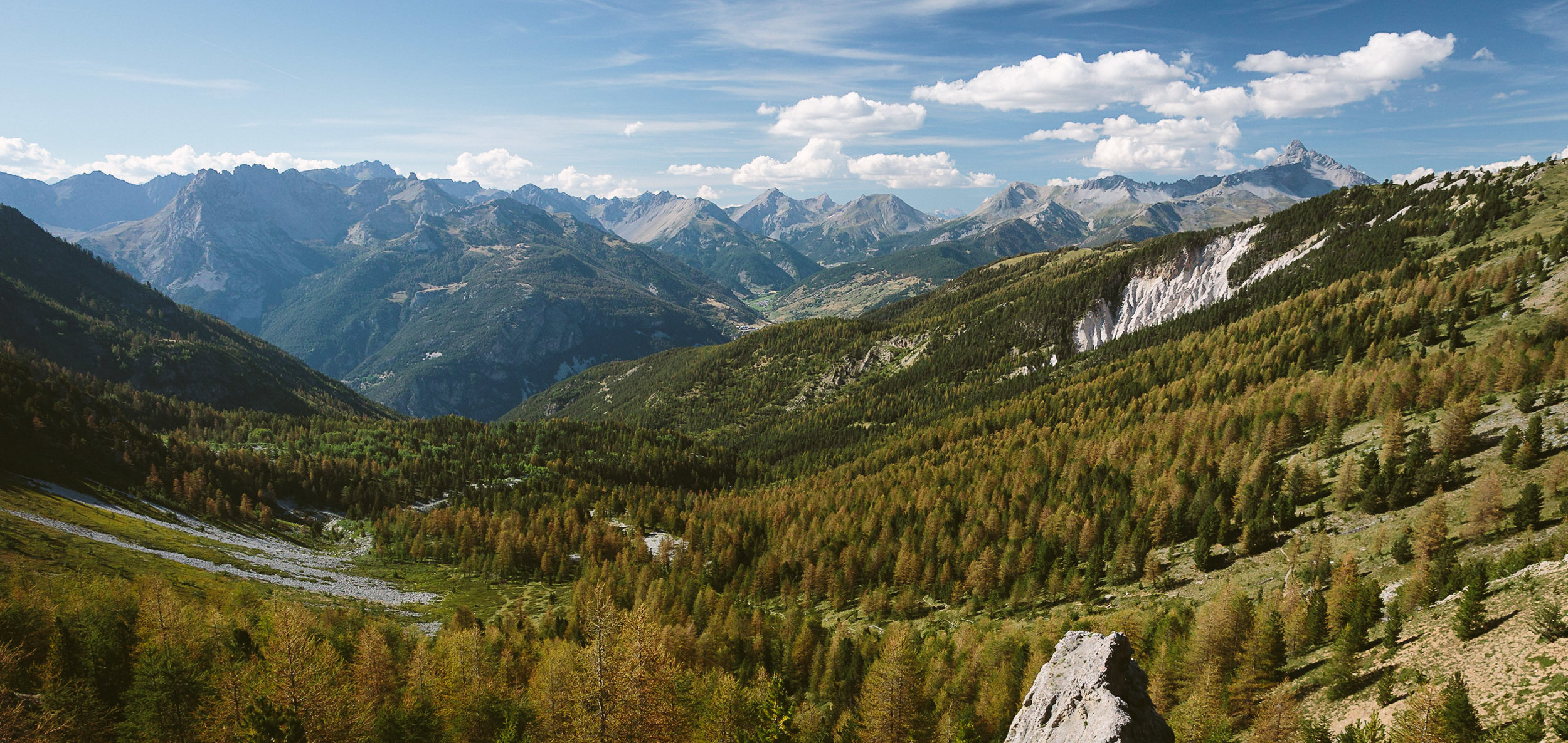 View from the Col Fromage