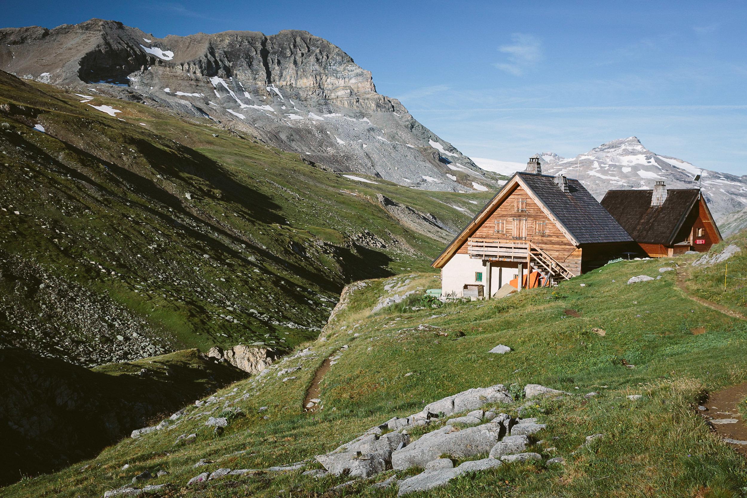 Refuge de la Leisse in the Vanoise