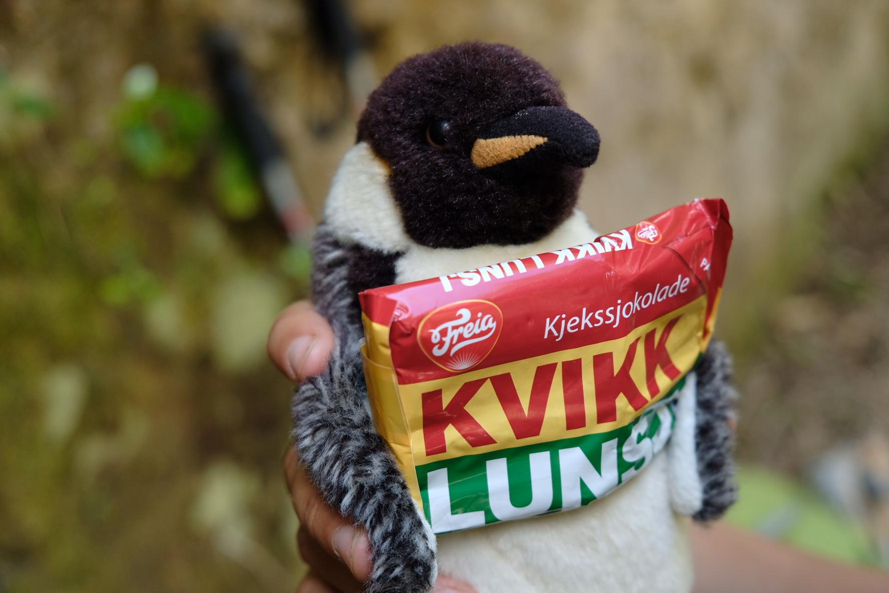 Celebratory Kvikk Lunsj
