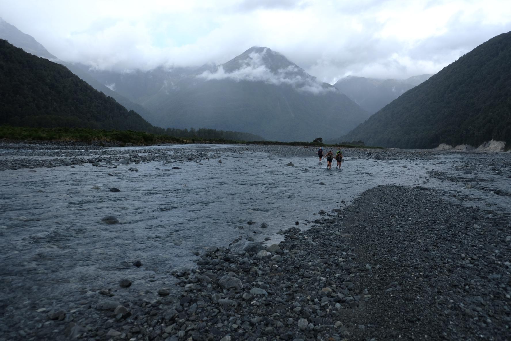 River bashing
