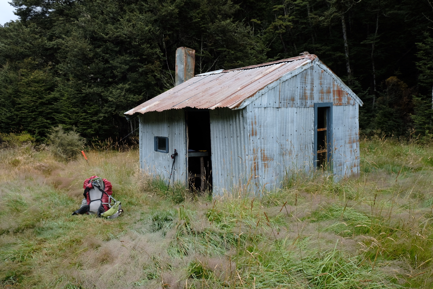 A hut with historic interest