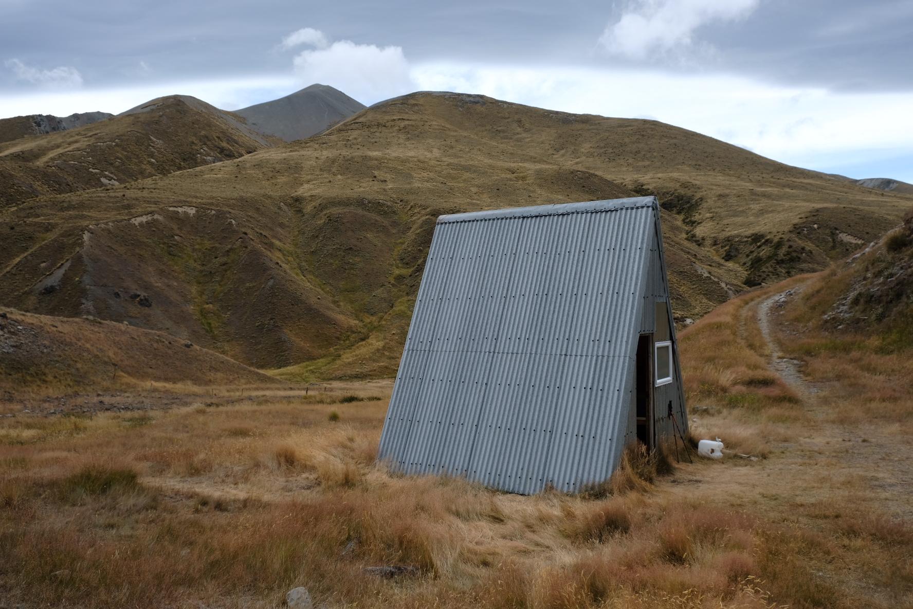 Cute A-frame hut