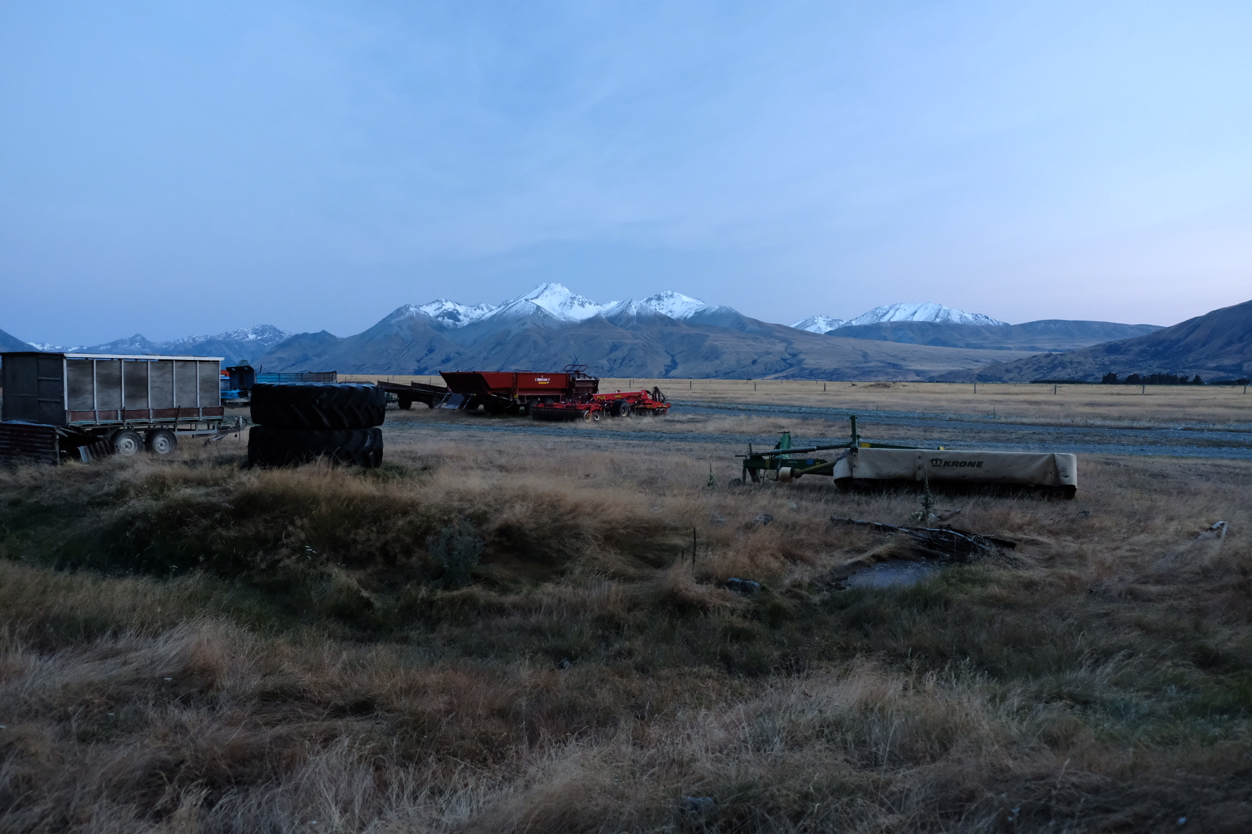 Mt. Potts and the Rangitata from the other side