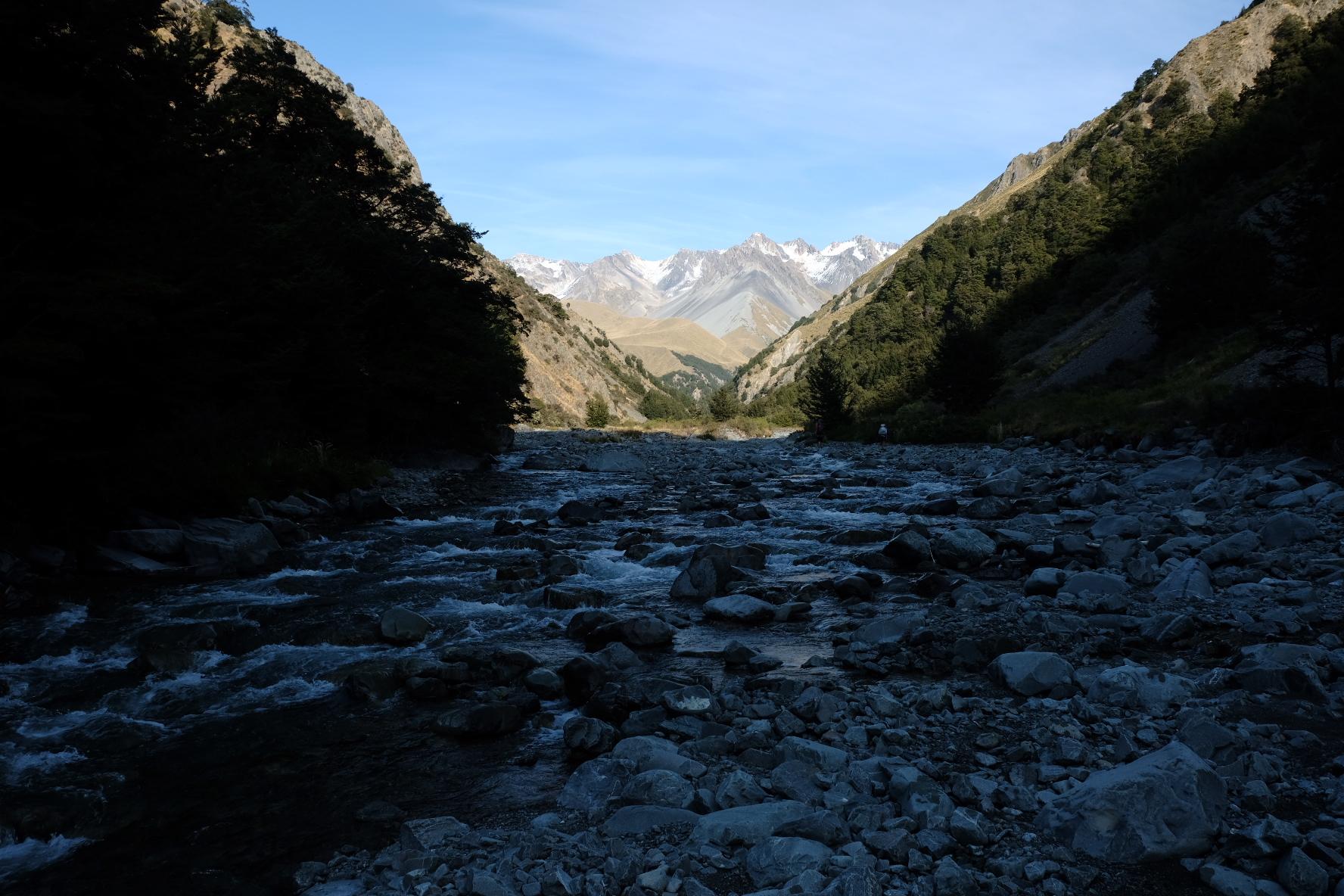 Bush stream further upstream
