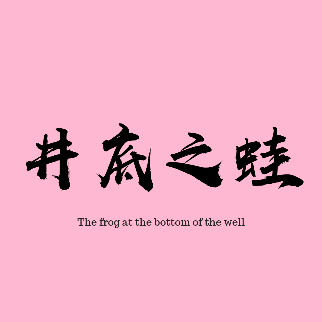 chinese-chengyu-frog-at-the-bottom-of-the-well