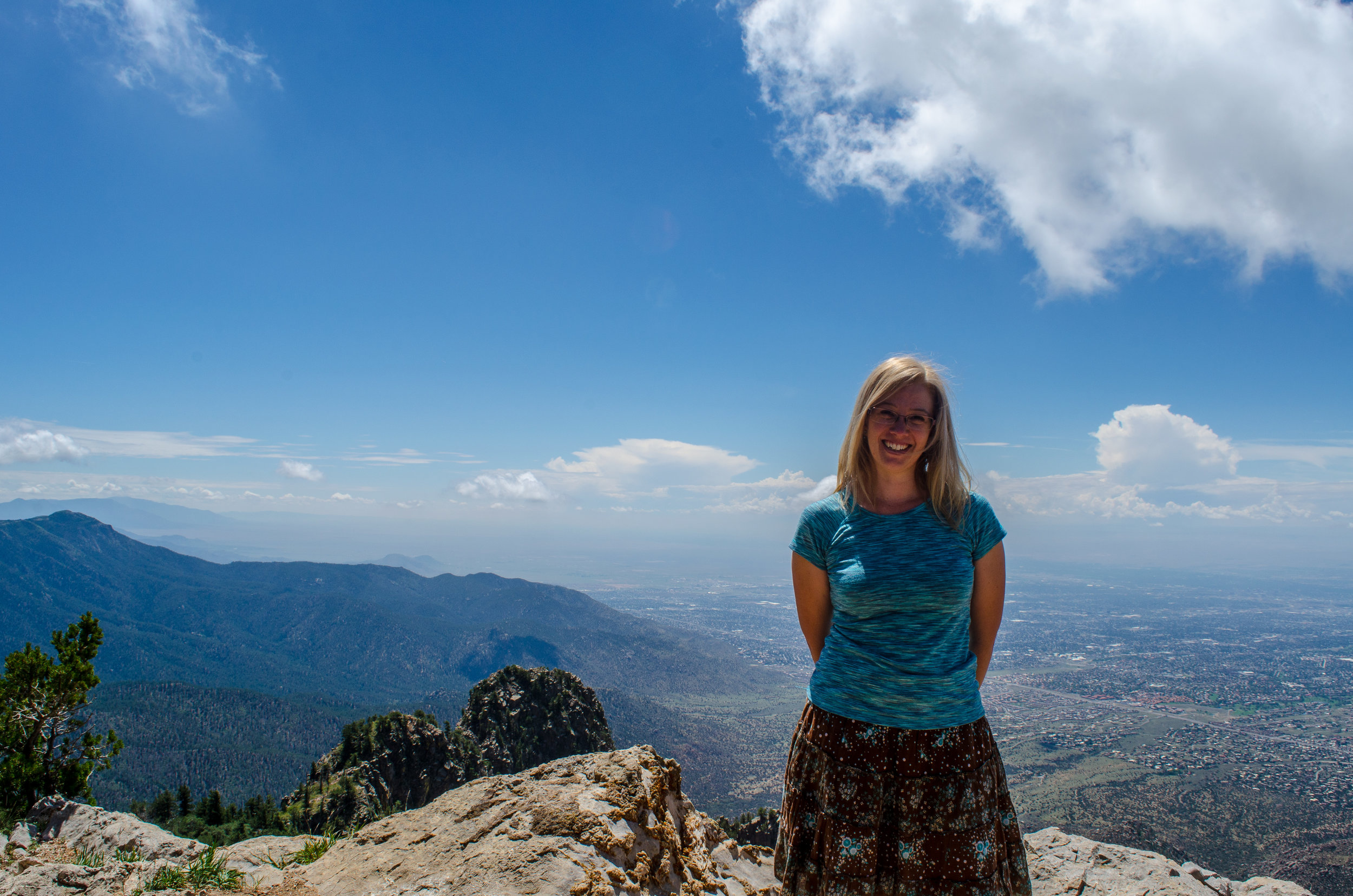 Susan Buescher, Sedina Peak