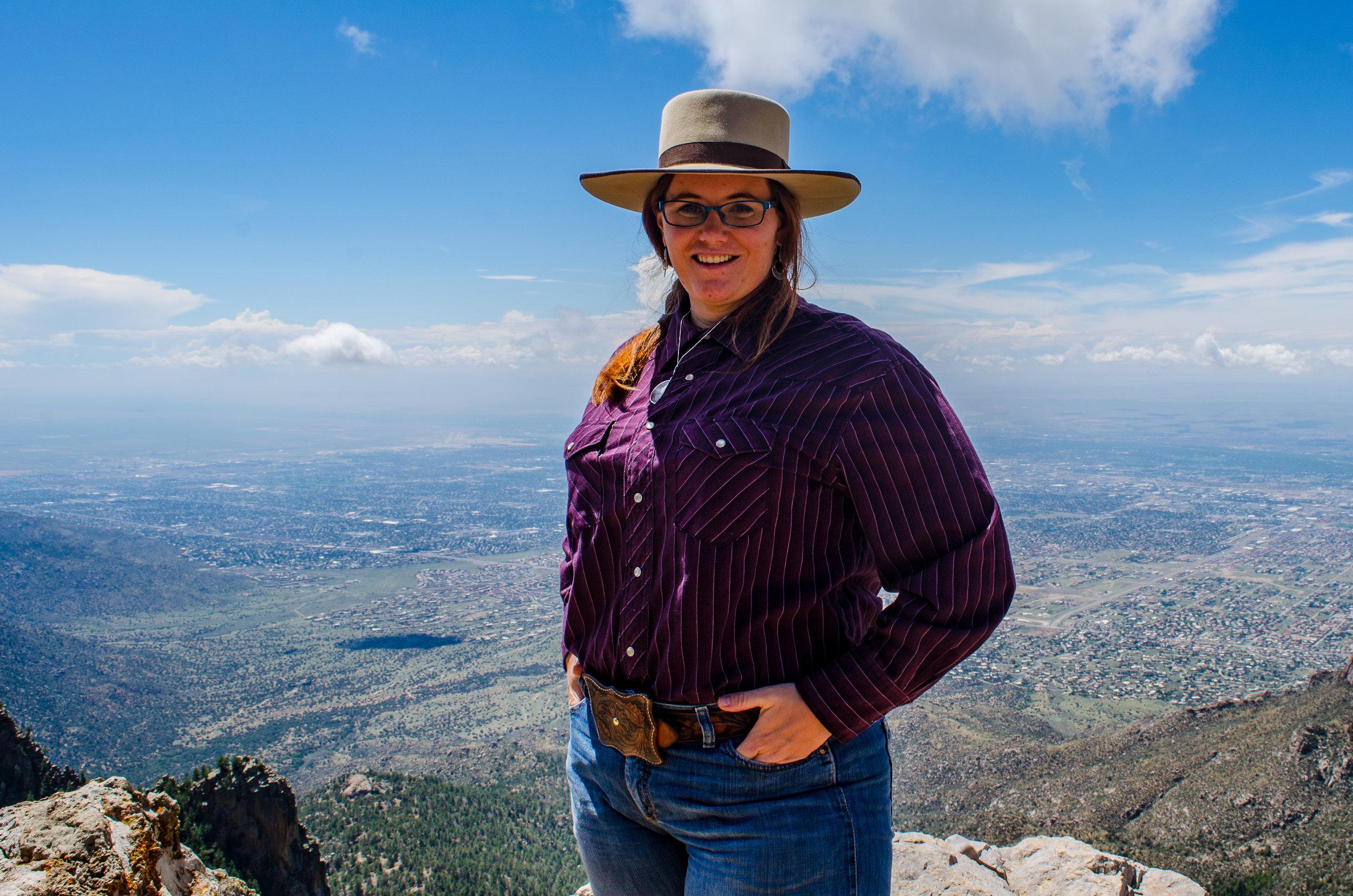 Jessica Hedges, Sedina Peak
