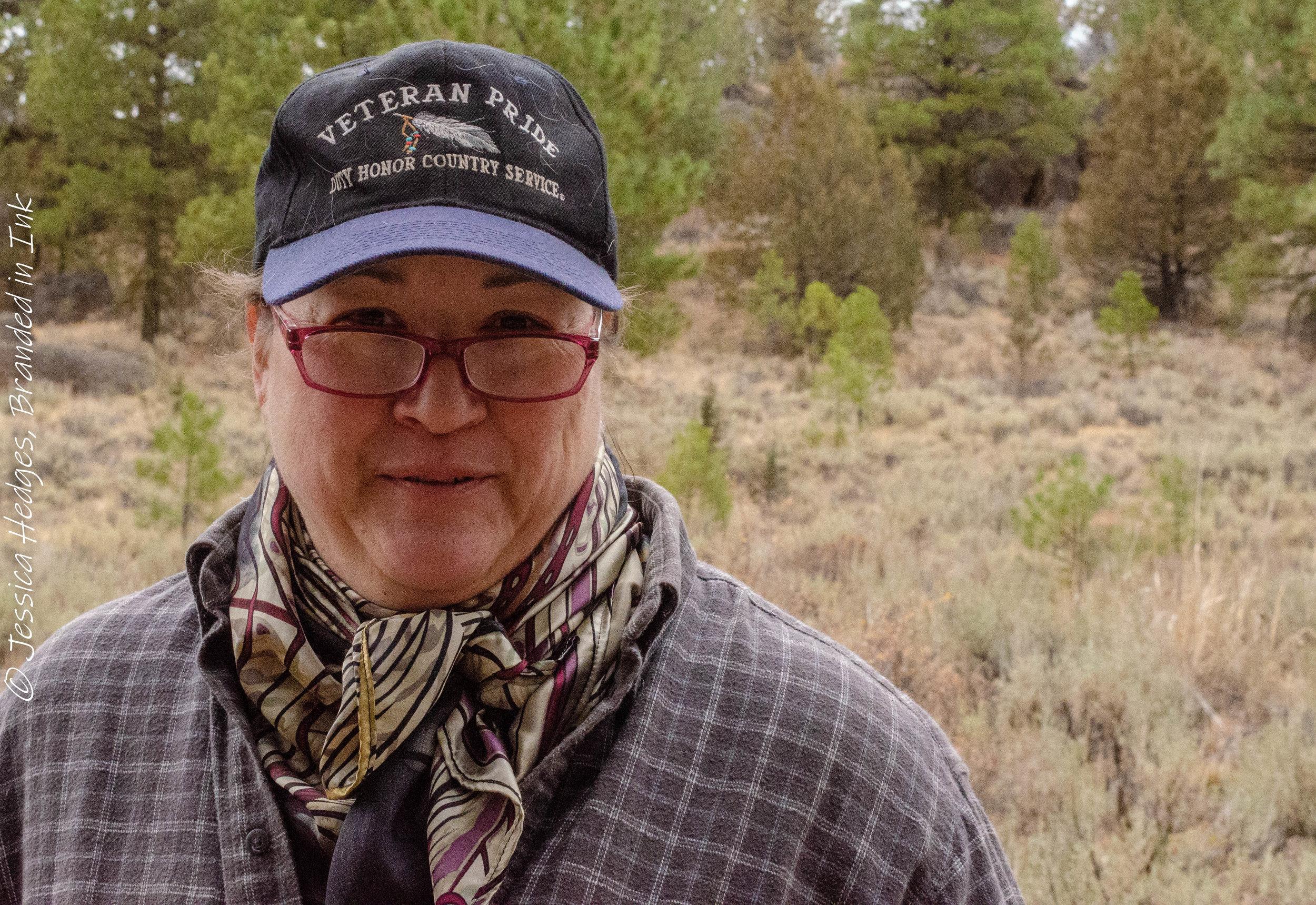 Marilyn Wilber, Desert Wind Boutique, Oregon, Vetran