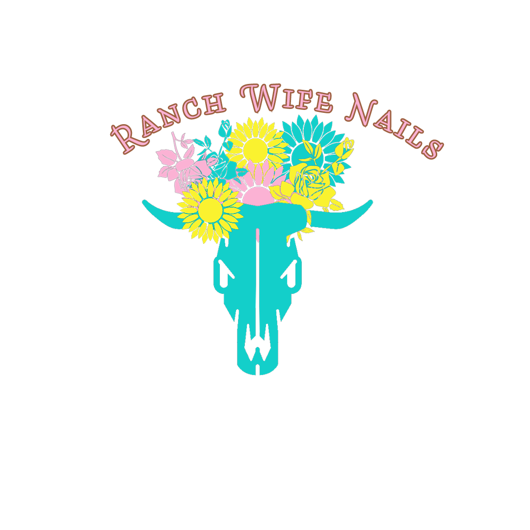Ranch Wife Nails for a Color Street Stylist in Wyoming.