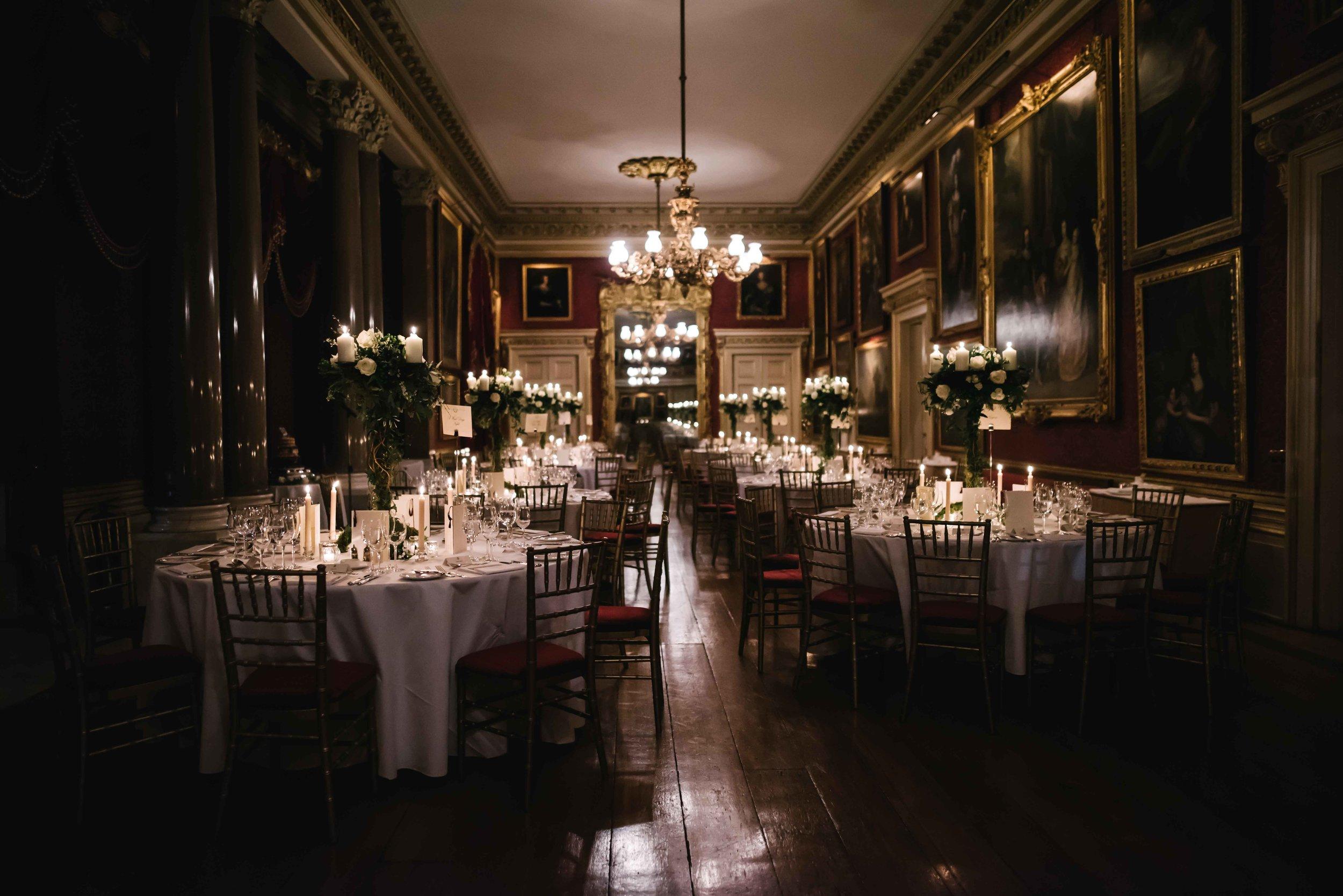Elegant Goodwood House Wedding - November 2018