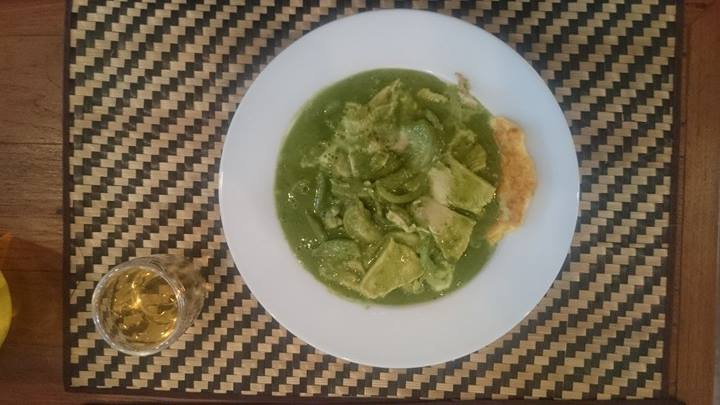 Tea Thai green curry