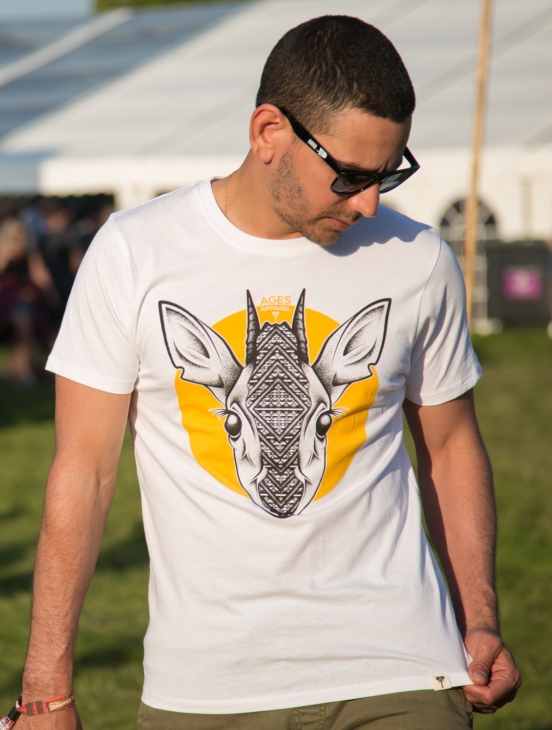 Organic Dik-Dik Tee  Artwork inspired by the Dik-Dik, a species of small antelope that live in the bushlands of eastern and southern Africa.